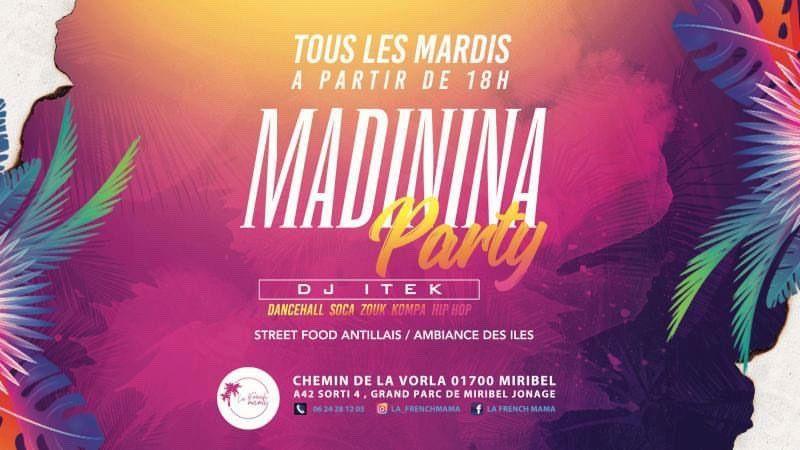Madinina Party à La French Mama