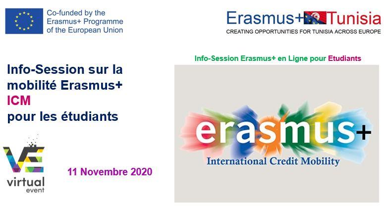 Info-Session sur le programme Erasmus+ ICM pour les étudiants