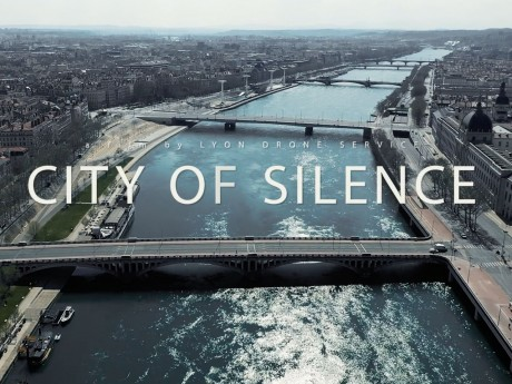Découvrez Lyon filmée par drone en plein confinement