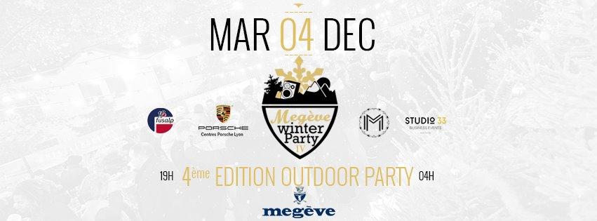Megève Winter Party IV à La Maison