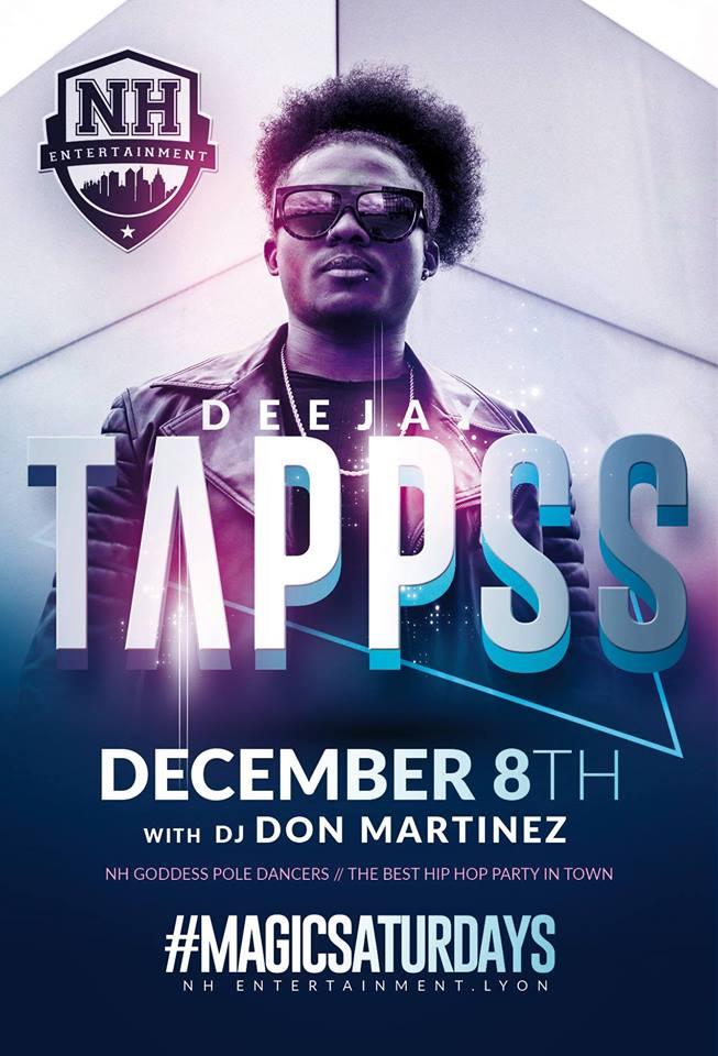 Le DJ Parisien TAPPSS au NH Entertainement !