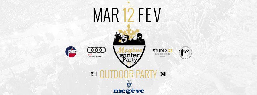 Megève Winter Party : La Closing !
