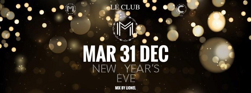 New Year's Eve - La Maison Gerland