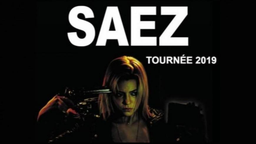 SAEZ en concert à la Halle Tony Garnier