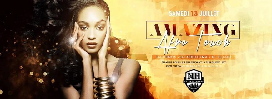 SAMEDI : Amazing Afro Touch and DJ Dsmok, DJ Elijah x DJ Souleymix au NH Club