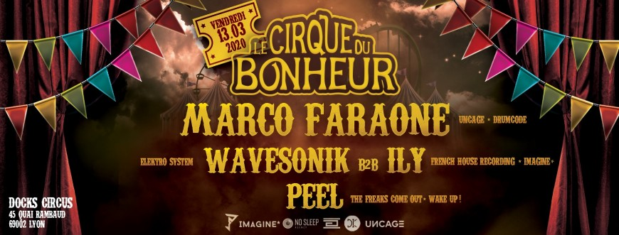 Le cirque du bonheur présente : Marco Faraone au DOCKS CIRCUS