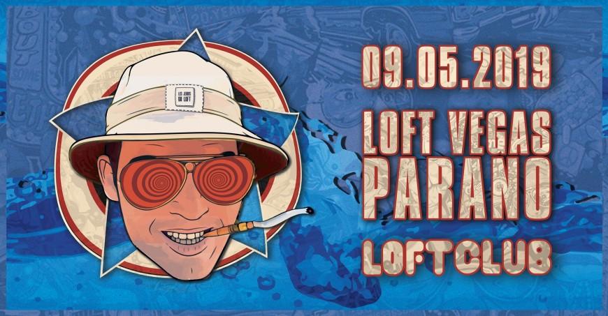 Ta soirée 100% Las Vegas Parano au Loft Club