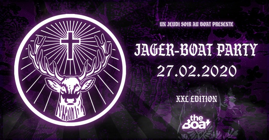 Jäger Boat Party XXL Edit au Boat