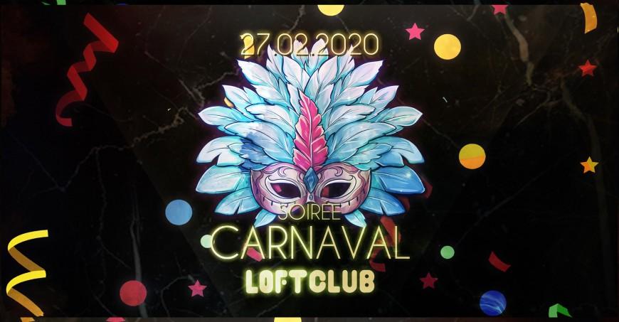 Soirée Carnaval au Loft Club