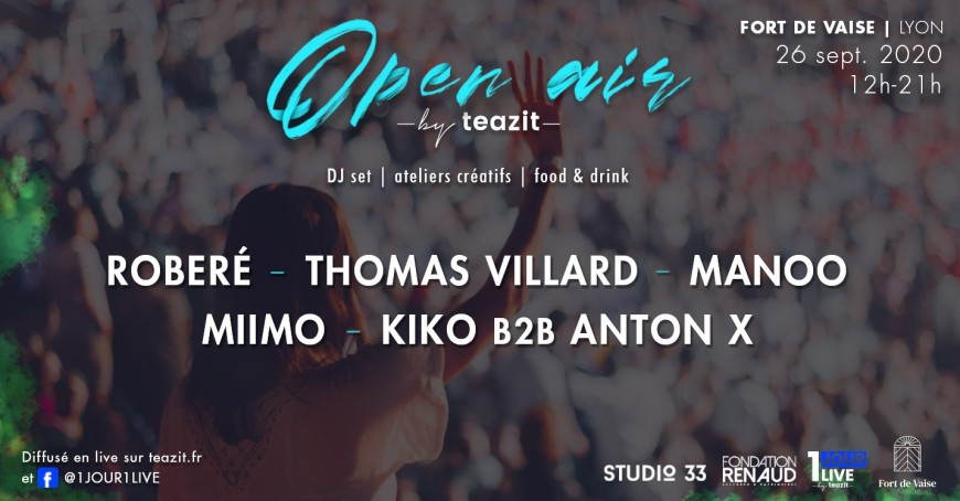 OPEN AIR by Teazit au Fort de Vaise