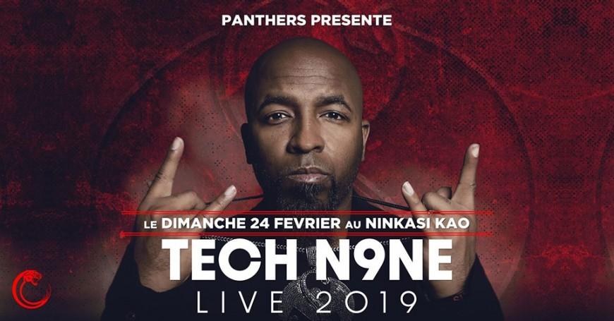 Ninkasi Gerland reçoit TECH N9NE pour un concert exceptionnel !