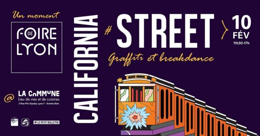 Le Moment Foire de Lyon revient son évènement California Street !