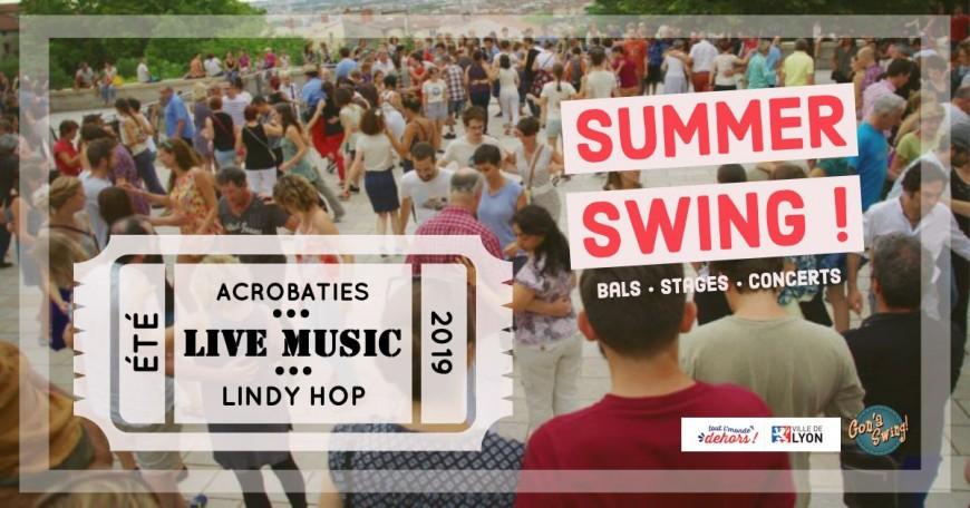 LUNDI : Summer swing - Bals tout l'monde dehors