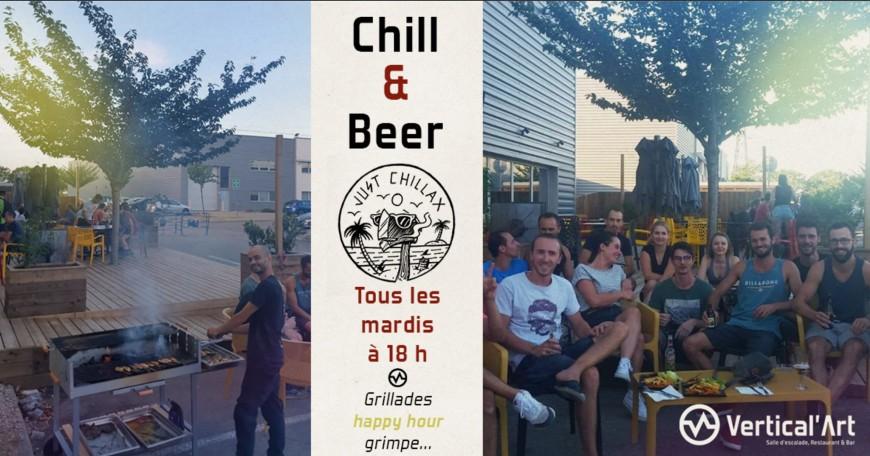 MARDI : Les mardis Chill & Beer