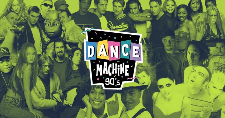 Dance Machine 90's à La Plateforme