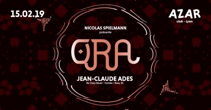 Nicolas Spielmann présente Ora > Jean-Claude ADES au AZAR Club !