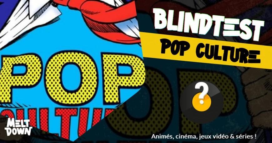 Blindtest POP CULTURE