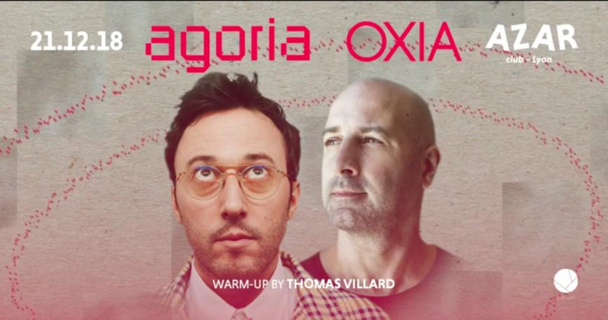 Agoria & Oxia au  AZAR Club !