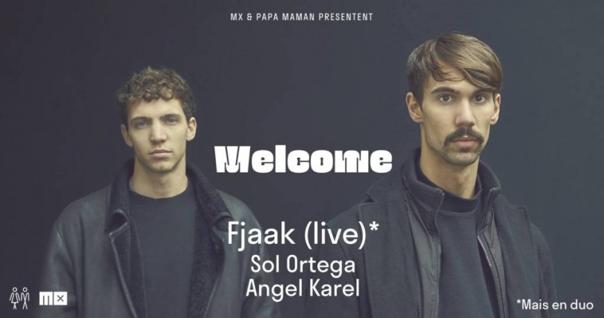 6e édition de Welcome au Petit Salon avec Fjaak (live), Sol Ortega & Angel Karel !