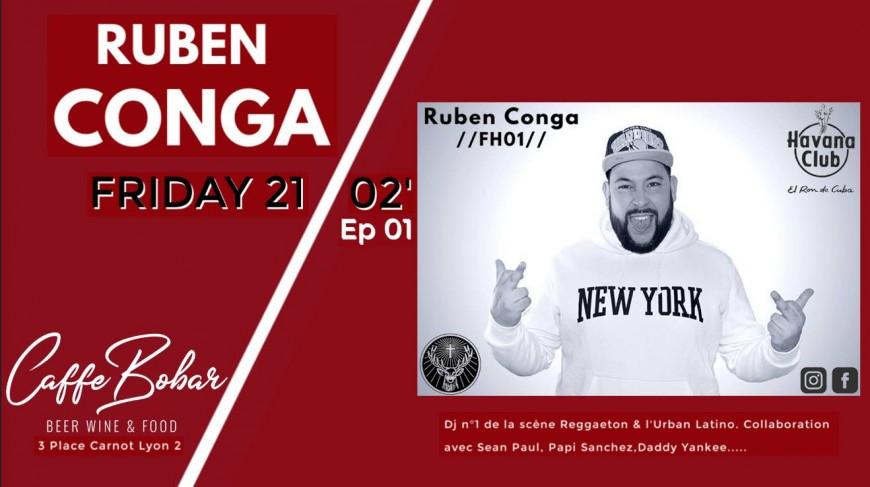 RUBEN CONGA x Caffe Bobar