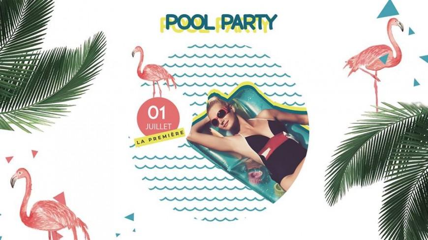 Les Lodges organisent leur première Pool party de l'été