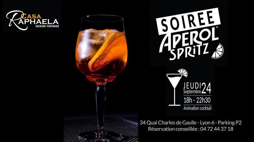 Soirée Apérol® Spritz au Casa Raphaela - Cité Internationale