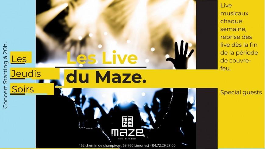Les Live du Maze