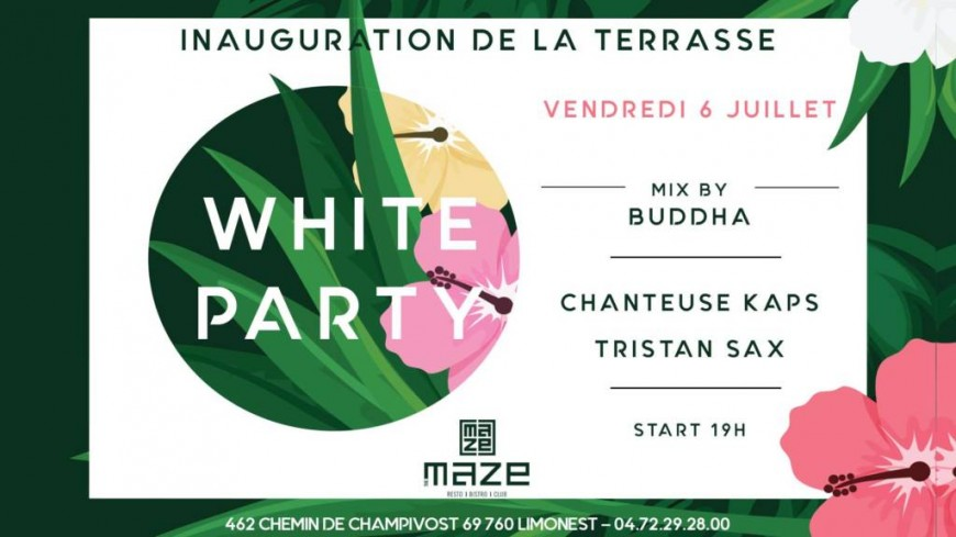 White party à The Maze