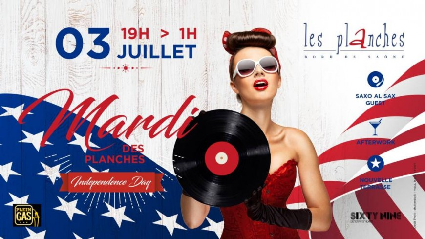 Independance Day - Les planches