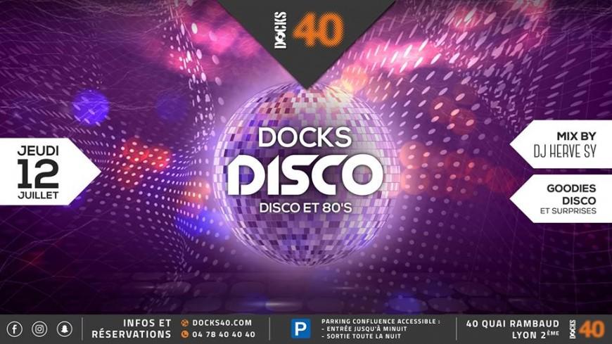 Disco fever au DOCKS 40