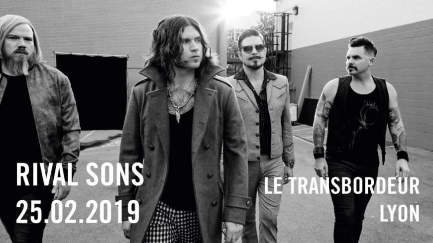 Rival Sons en concert au Transpordeur !