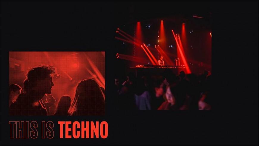 This is Techno 100% local au Petit Salon !