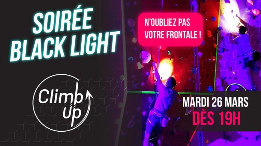 Black Light : une façon originale de faire de l'escalade !