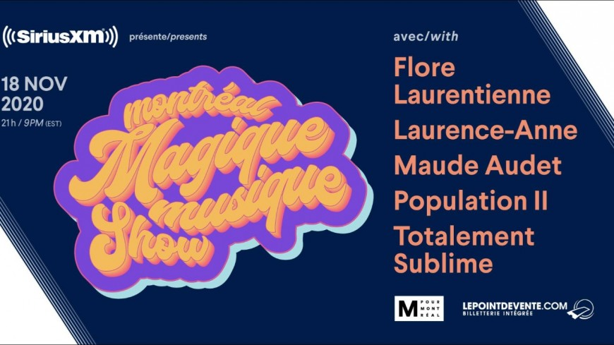 Le Montréal Magique Musique Show