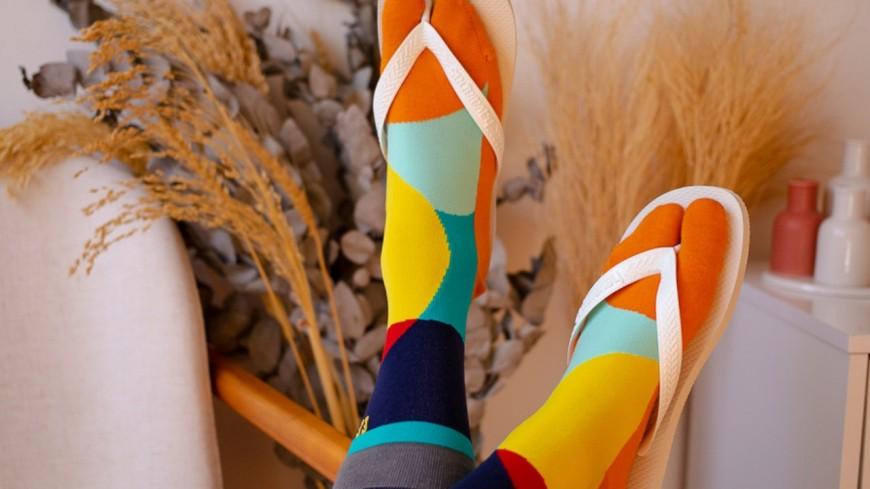 Grâce à ces chaussettes, vous pouvez porter vos tongs même en hiver