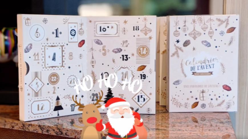 Découvrez le calendrier de l'Avent made in Lyon, composé de saucissons