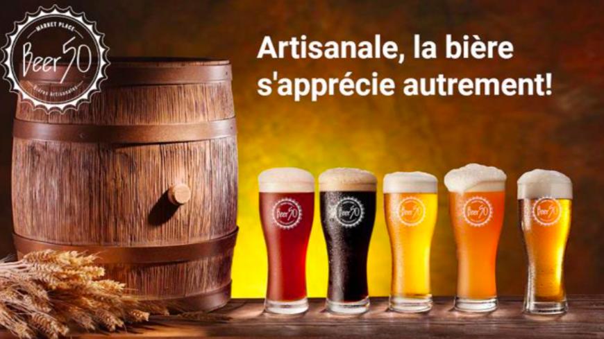 Beer50 : l'alliance parfaite entre l'authenticité de l'artisanat et la force de la technologie digitale