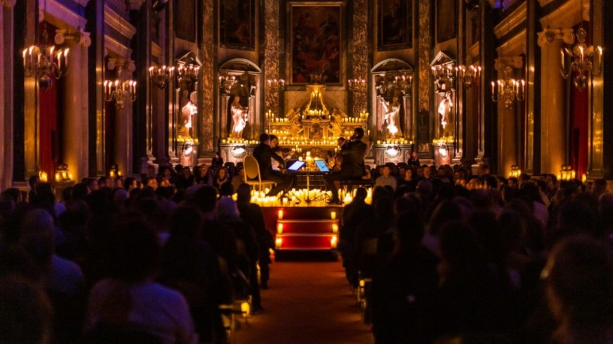 Les concerts à la bougie de Candlelight reviennent pour Noël