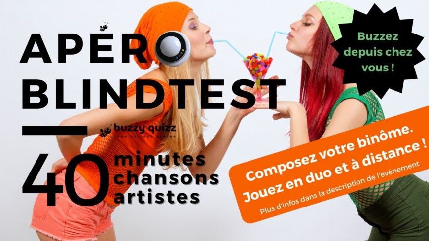 Apéro Blindtest - Duos à distance