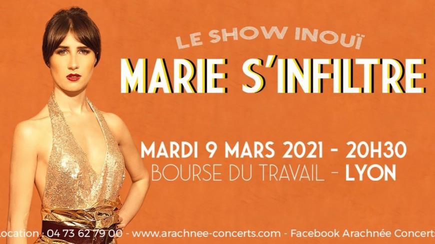 MARIE S'INFILTRE à la Bourse du travail de Lyon