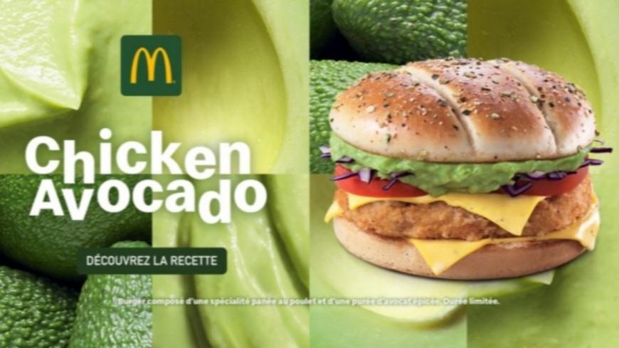 McDonald's lance son burger à l'avocat, en édition limitée