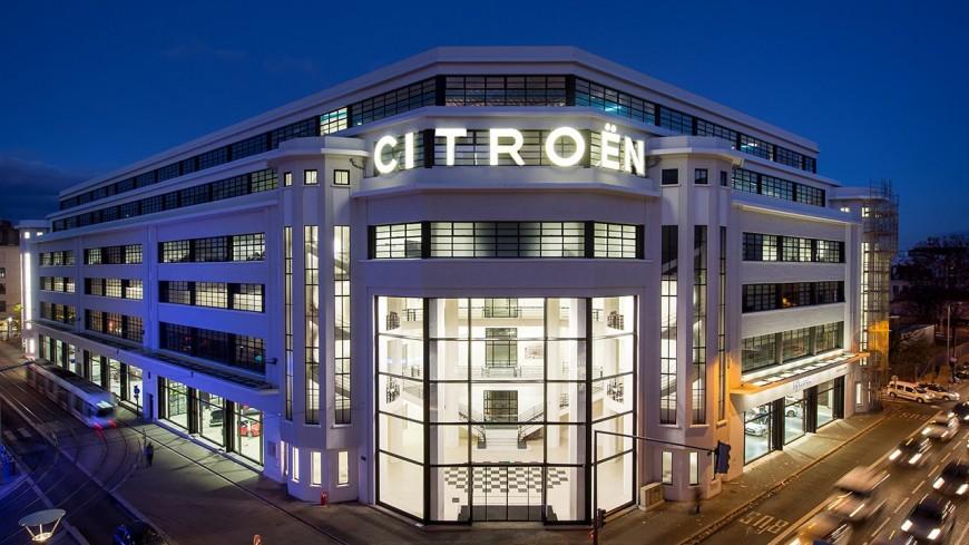 Le célèbre garage Citroën dans le 7e arrondissement va acceuillir une brasserie