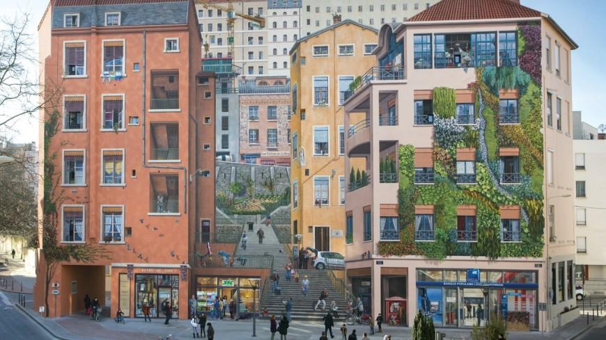Visite guidée : des murs peints de Lyon au street art