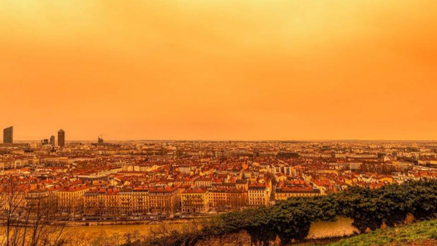 Ce week-end, le ciel jaune sera de retour à Lyon