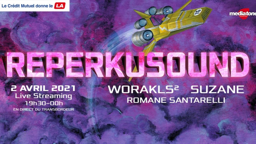Le Festival Reperkusound aura lieu en live streaming !