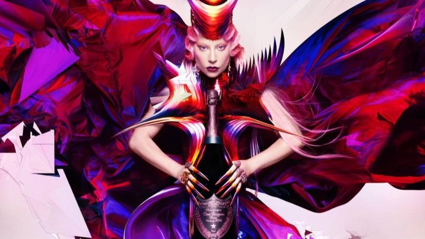 Lady Gaga, nouvelle égérie Dom Pérignon !