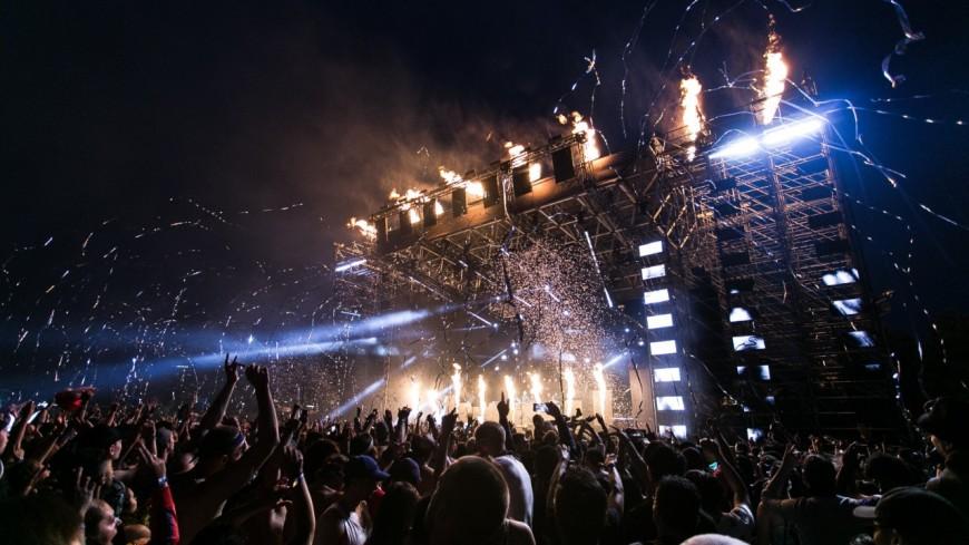 50 000 personnes rassemblées lors d'un concert !