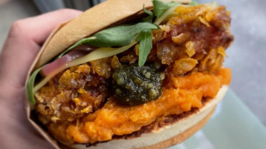À lyon, un fast-food propose un burger au CBD !