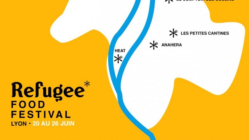 Le Refugee Food Festival fait son retour à Lyon pour une 5e édition !