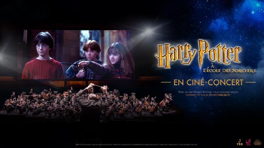 Un ciné-concert sur le thème d'Harry Potter à l'École des Sorciers !